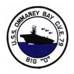 USS Ommaney Bat CVE-79 Patch