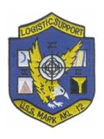 "USS Mark AKL-12 ""Logistic Support"" Patch"