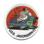 USS Jason ARH-1 Patch