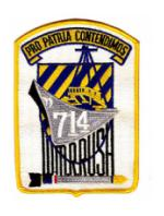 USS W. R. Rush DD-714 Ship Patch