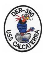 USS Calcaterra DER-390 Patch