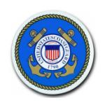 U.S. Coast Guard 1790 Bumper Sticker (Circular)