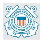 U.S. Coast Guard 1790 Outside Window Decal