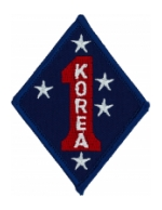 1st Marine Division Patch (Korea)