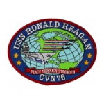 USS Ronald Reagan CVN 76 Ship Patch