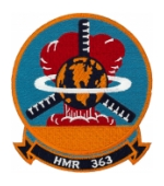 Marine Heavy Helicopter Squadron Patch HMR 363