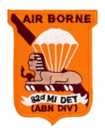 82nd Airborne Military Intelligence Detachment Patch