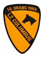 1st Cavalry Division Patch (LZ Columbus)