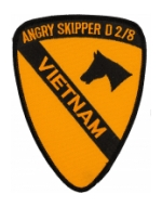 1st Cavalry Division Patch (Angry Skipper D 2/8)