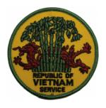 Republic of Vietnam Service Patch
