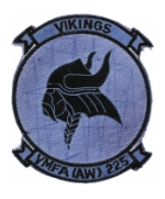 Marine All Weather Fighter Attack Squadron VMFA (AW)-225 (Vikings) Patch