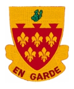 77th Field Artillery Regiment Patch