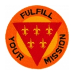 Field Artillery Division Patches