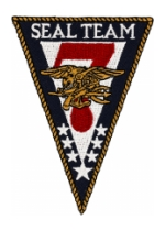 Seal Team 7 Patch