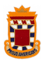 32nd Artillery Division Patch