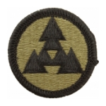 3rd Corps Support Command COSCOM Scorpion / OCP Patch With Hook Fastener