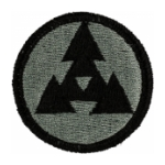 3rd Corps Support Command COSCOM Patch Foliage Green (Velcro Backed)