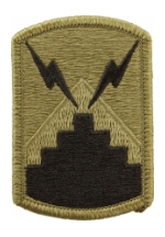 7th Signal Brigade Scorpion / OCP Patch With Hook Fastener)