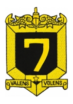 Navy Submarine Squadron 7 Patch