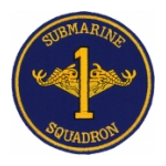 Navy Submarine Squadron 1 Patch