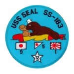 USS Seal SS-183 Patch