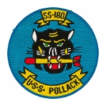 USS Pollack SS-180 Patch