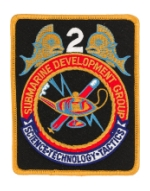 Navy Submarine Development Group 2 Patch