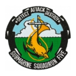 Navy Submarine Squadron 5 Patch