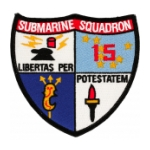 Navy Submarine Squadron 15 Patch