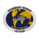 USS Tanner AGS-15 Ship Patch (Vietnam)