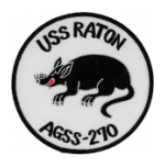 USS Raton / AGSS-270 Patch