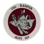 USS Rasher AGSS-269 Patch