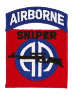 82nd Airborne Division Patch (Sniper)