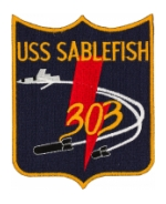 USS Sablefish SS-303 Patch