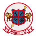 Marine Air Base  Squadron MABS-12 Patch