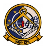 Navy Heavy Attack Squadron Patch VAH-123