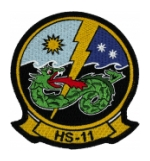 Navy Helicopter Anti-Submarine Squadron Patch HS-11