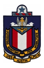 USS Austin LPD-4 Ship Patch