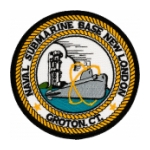 Naval Submarine Base Groton, CT. Patch