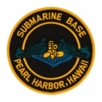 Naval Submarine Base Pearl Harbor Hawaii Patch