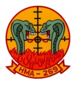 Marine Attack Helicopter Squadron Patches (HMA, HMLA)