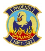 Marine Heavy Helicopter Training Squadron HMT-302 Patch
