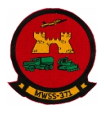 Marine Wing Support Squadron Patches (MWSS)