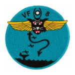 Navy Fighter Squadron VF-8 Patch