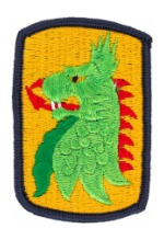455th Chemical Brigade Patch