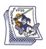 Navy Fighter Squadron VF-20 Patch