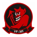 Navy Fighter Squadron VF-301 Patch