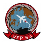 Navy Light Photographic Reconnaissance Squadron Patch VFP-63
