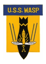 USS Wasp CV-7 Ship Patch