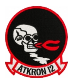 Navy Attack Squadron VA-12 Patch